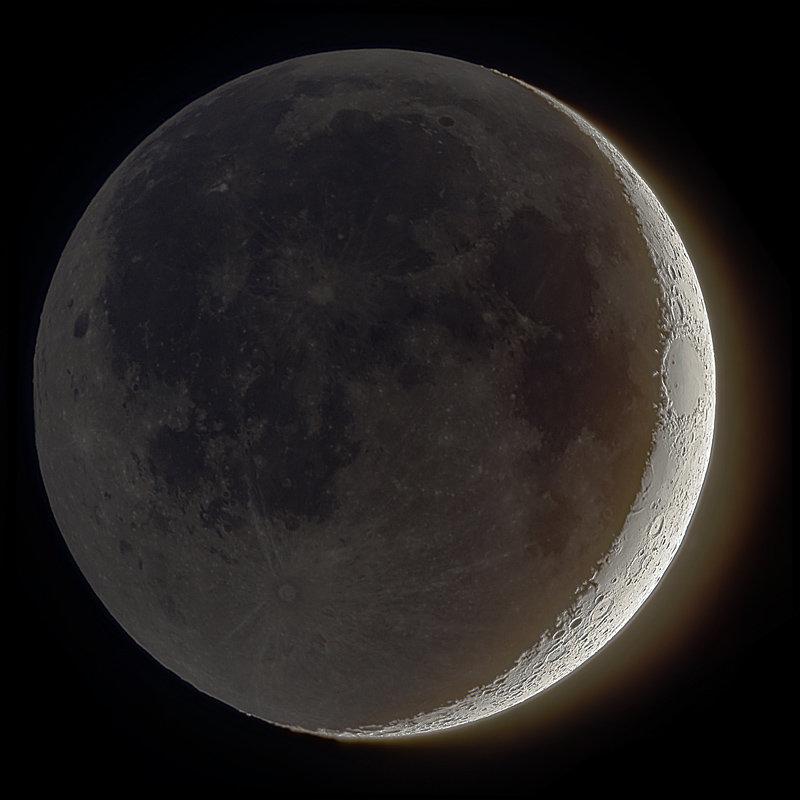 Луна растущая в картинка
