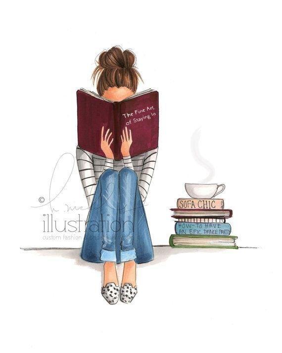 Girl Ing Book Images