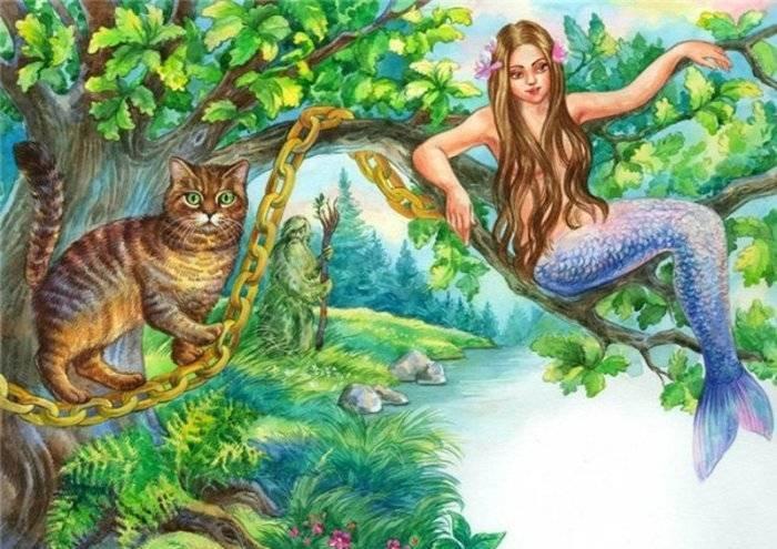 Картинка цветами, картинки у лукоморья дуб зеленый златая цепь на дубе том