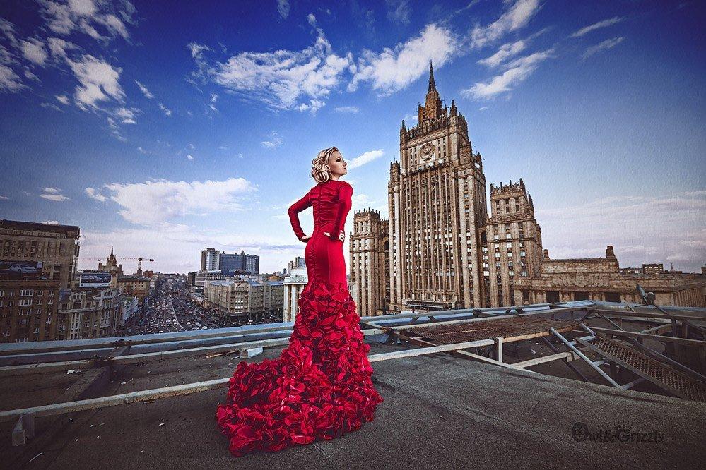 Оригинальные необычные фото в москве