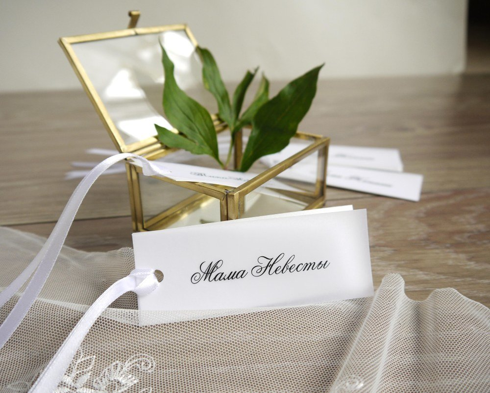 Рассадочные открытки для гостей, вязания