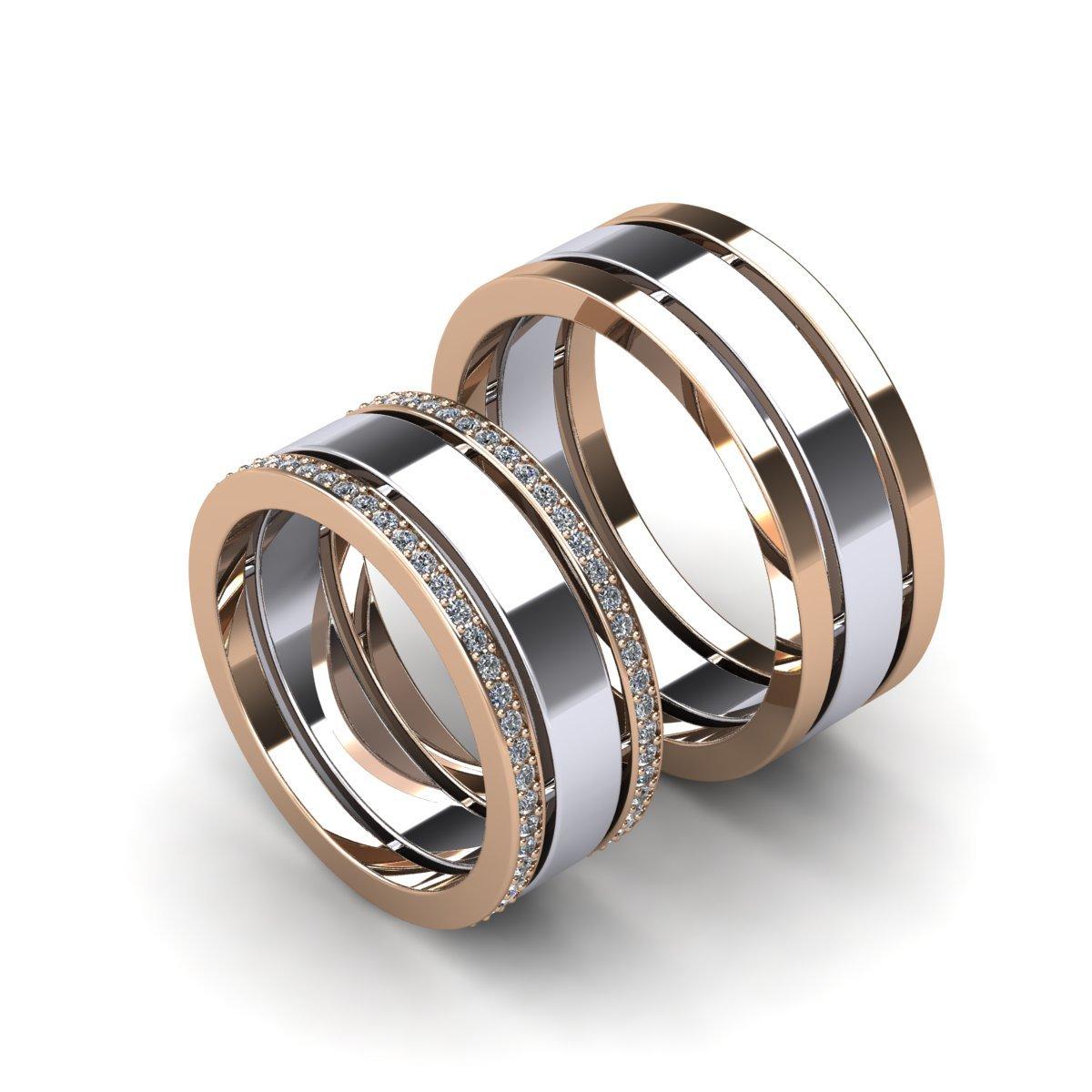 обручальные кольца парные купить