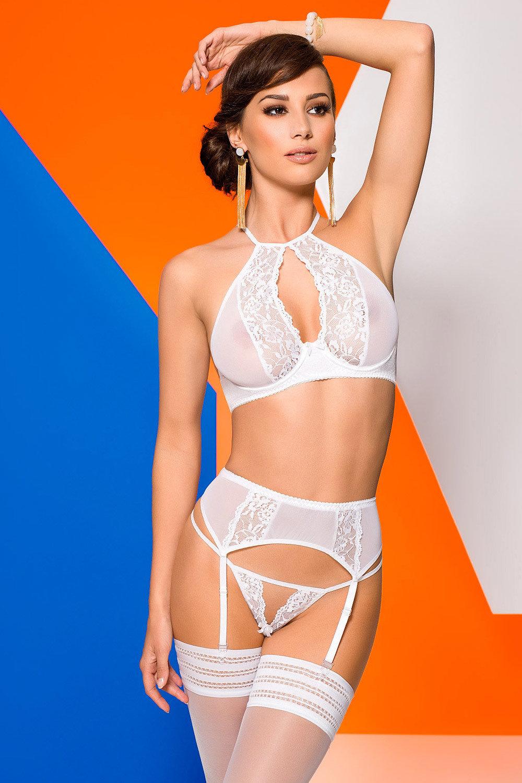 Девушки в белом прозрачном нижнем белье — img 14