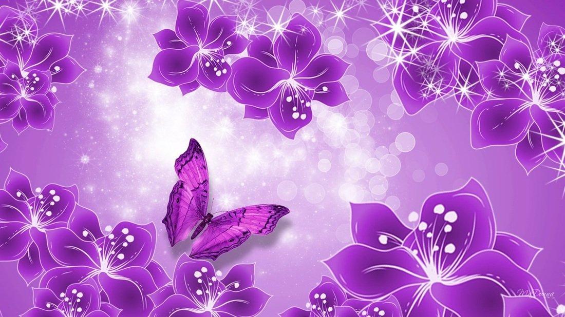 Прикольные, открытки фиолетовое
