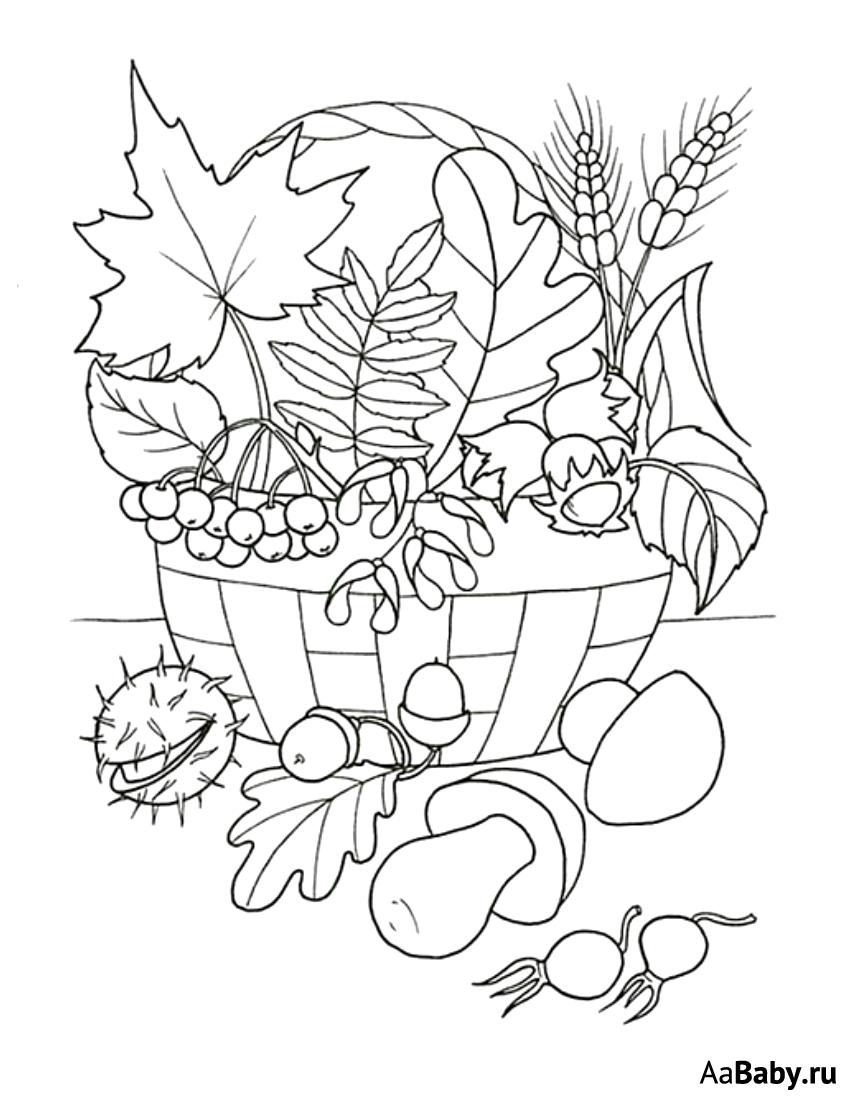 «Раскраски про осень» — карточка пользователя Виктория ...
