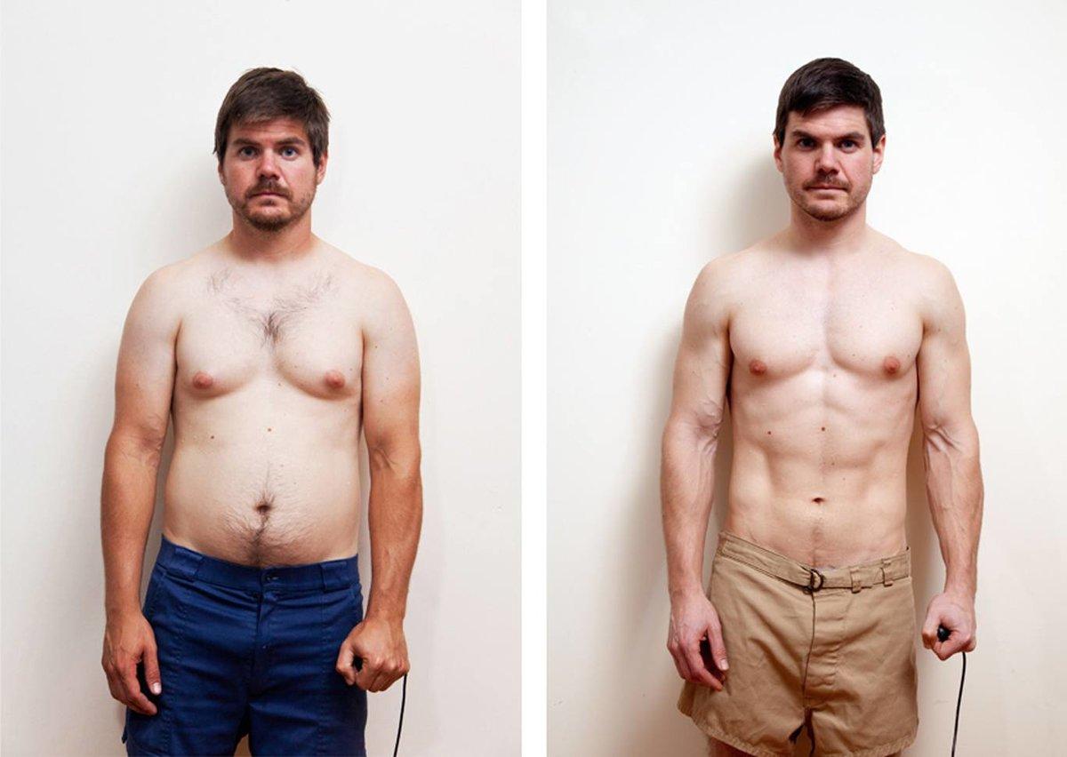 Похудеть мужчина пресс