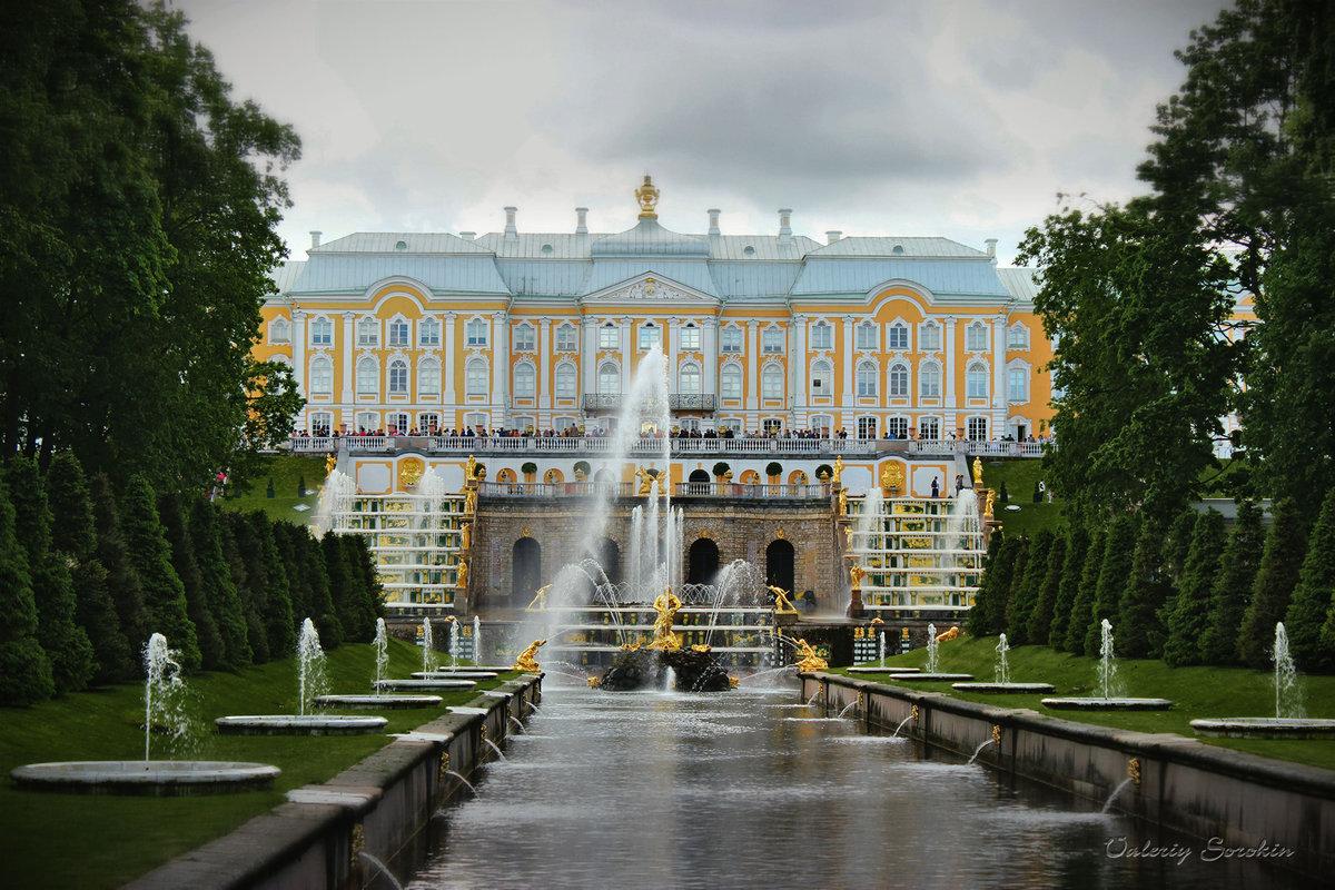 большой петергофский дворец фото психически неуравновешенным стоять
