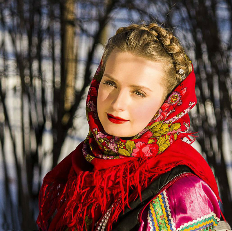 широкий размах русской девушки - 11