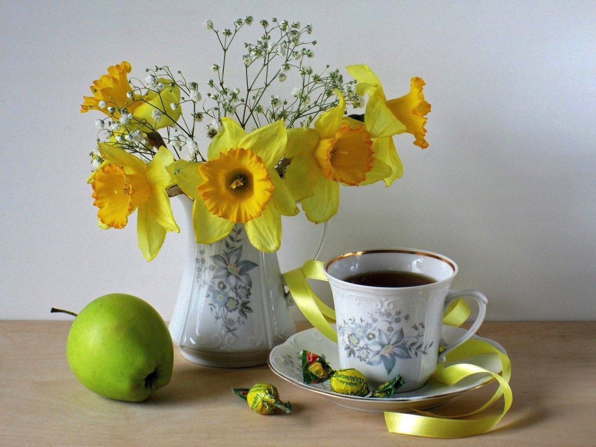 Открытки утро весеннее, днем