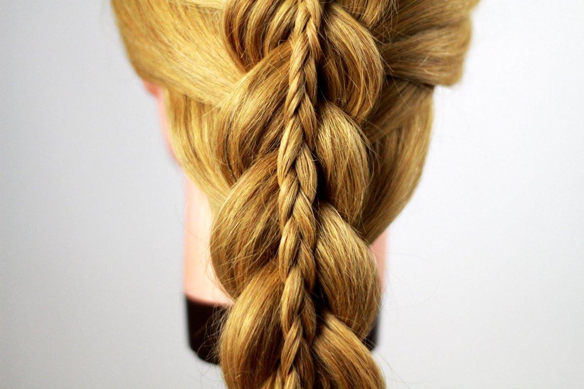 картинки косичек из волос человек быстро