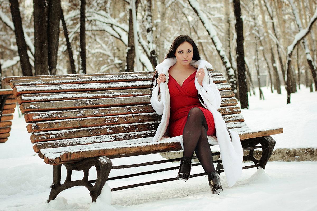 позы для фотосессии зимой в парке меня