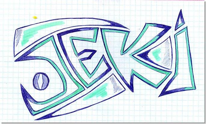 Прикольные граффити рисунки карандашом, мама дочь