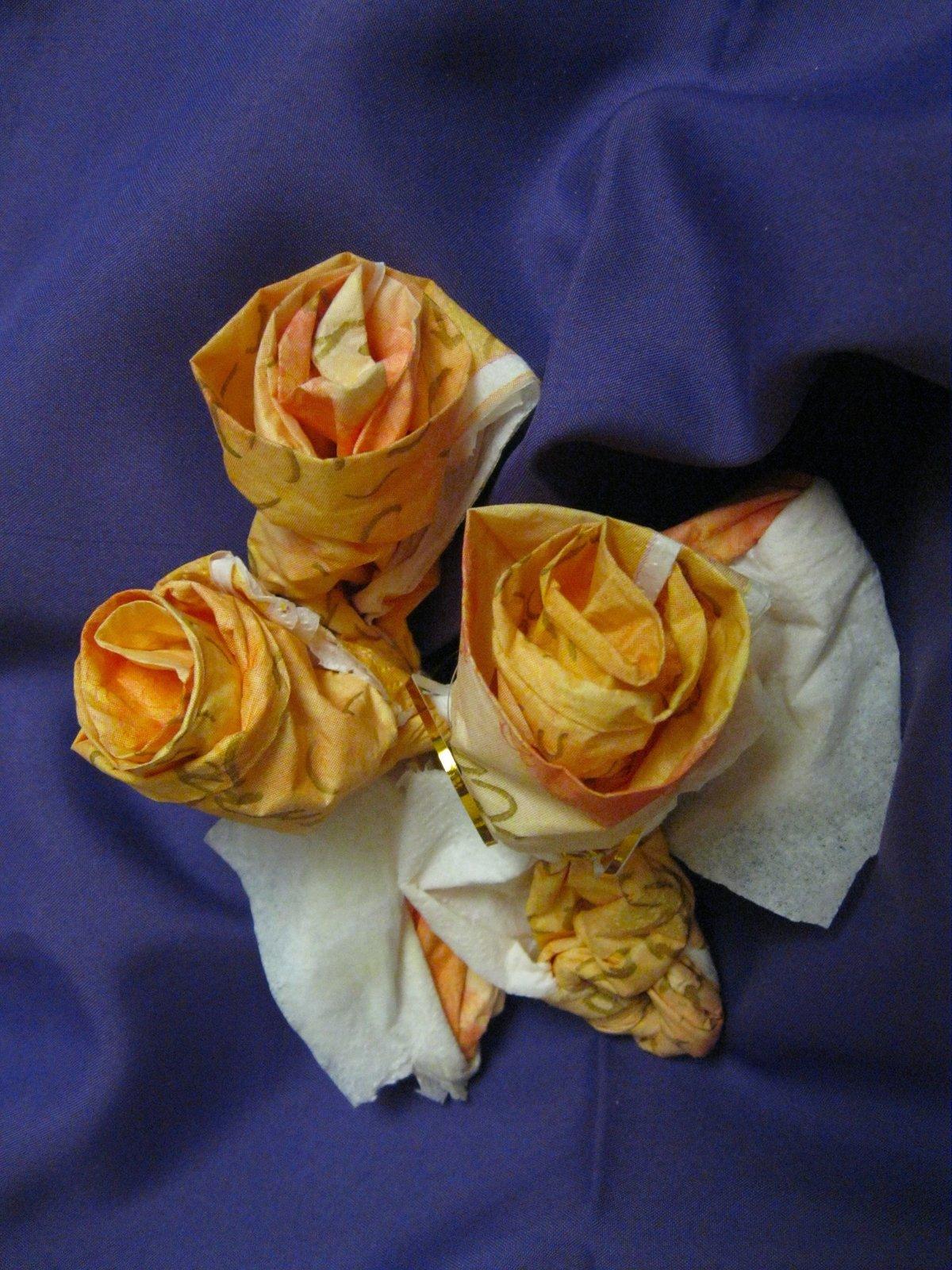 розы из салфеток с картинками вариант уступает