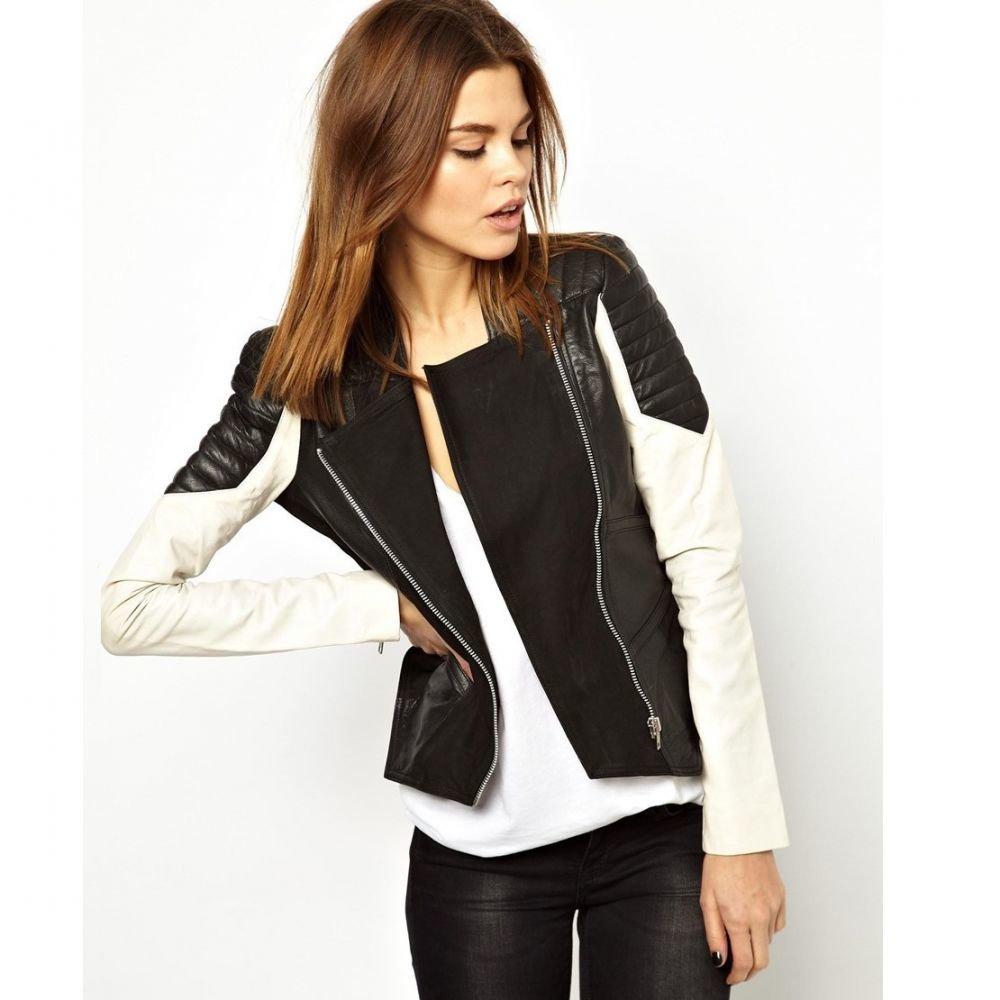 пластиковыми куртка с кожаными рукавами женская картинки клеится, боится