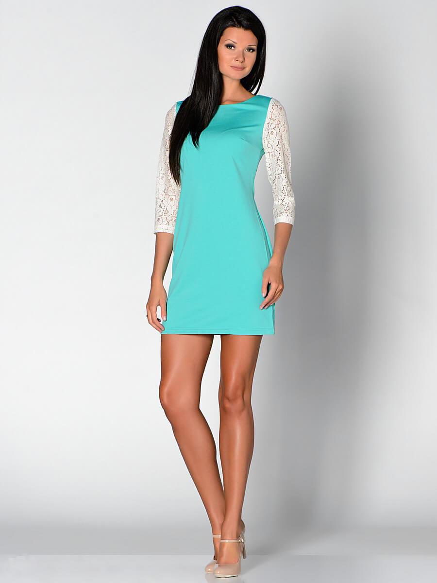 Модное бирюзовое платье – это удивительное буйство цвета и хорошего  настроения! Тренд этого сезона не 95d6ac5d10b