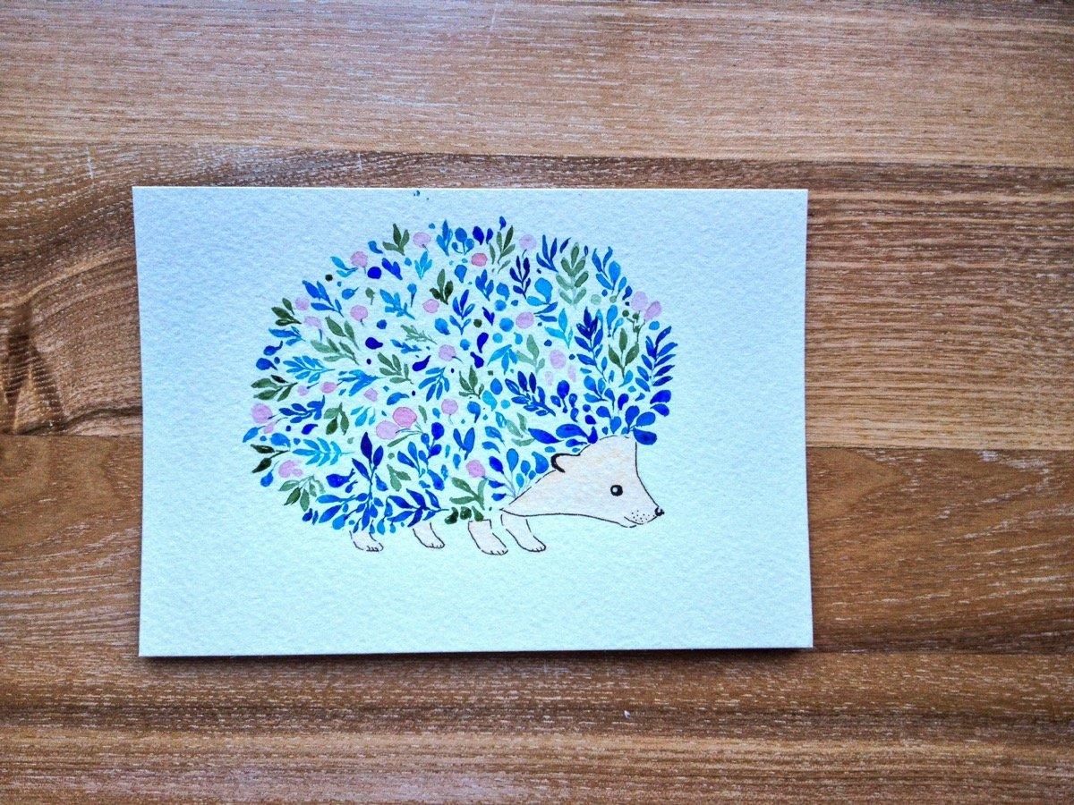 Нарисовать открытку своими руками другу