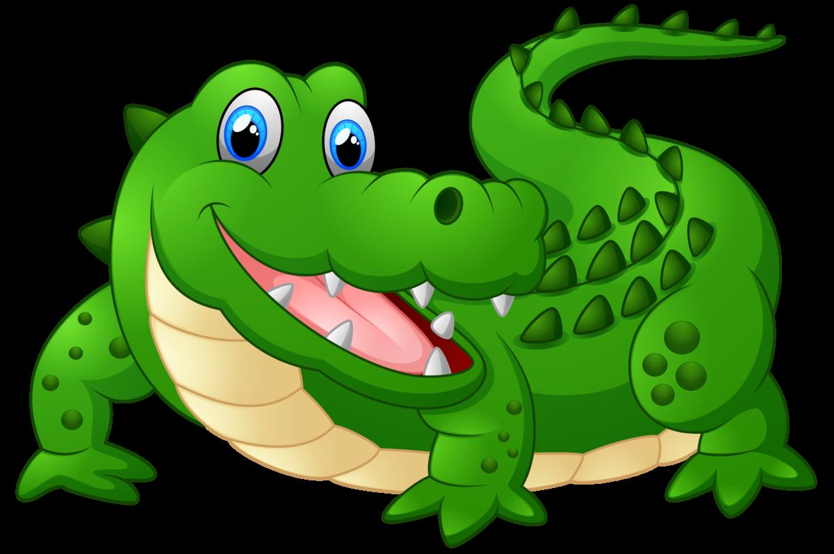 Днем, открытки крокодил