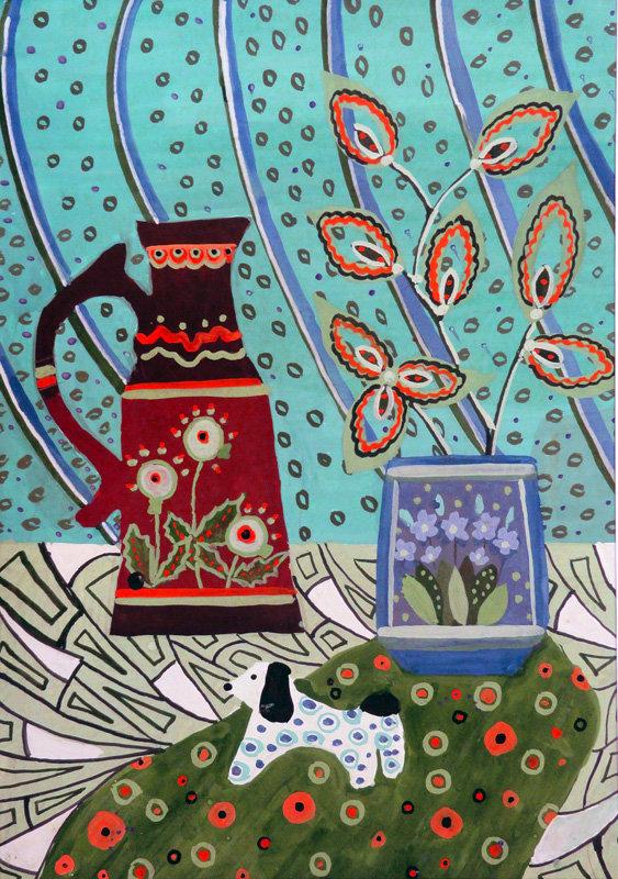 Искусство художественной открытки изо 4 класс