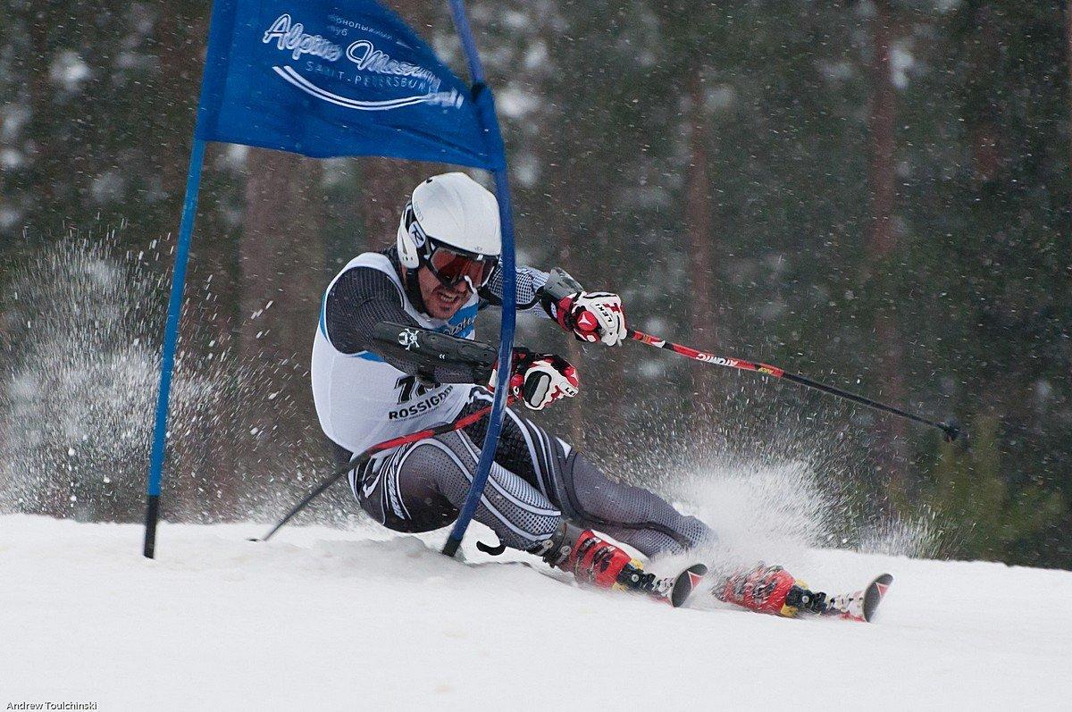 мастер картинки слалом на лыжах ученые