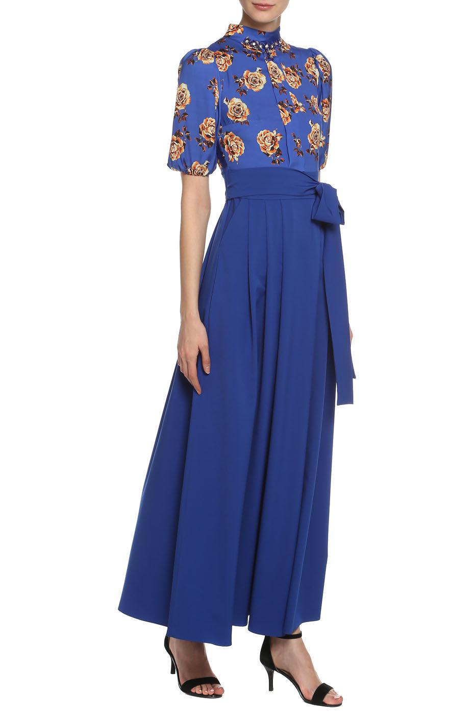 d2952849dd19 Брендовые вечерние и коктейльные платья темно синего цвета в интернет  магазине MSK-MODA ! Размеры