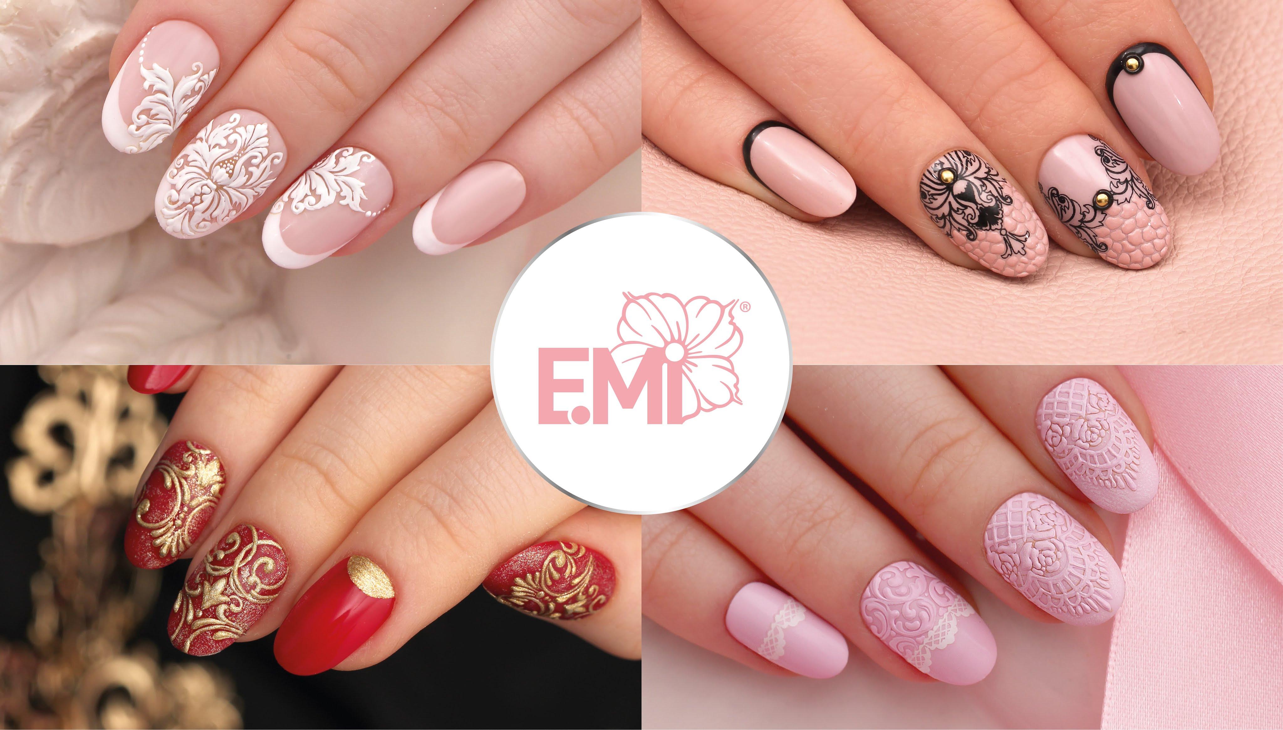 верхний дизайн ногтей Emi фото