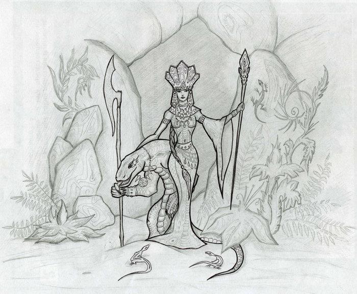 Картинки к сказкам карандашом