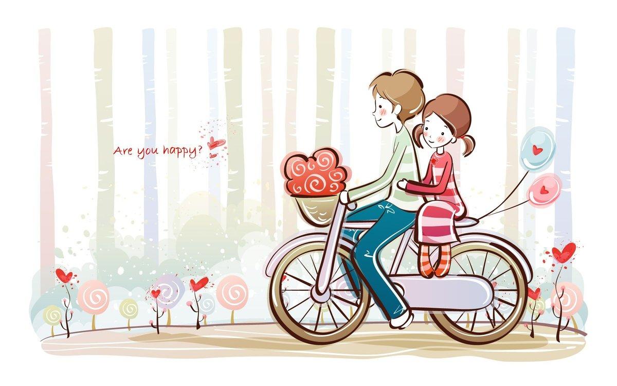 Дороги, картинка романтика любовь рисунок