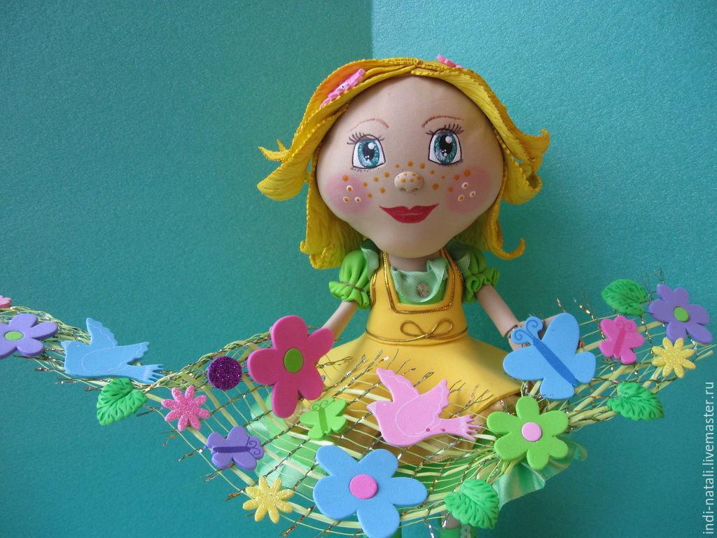 кукла из фоамирана своими руками это одно