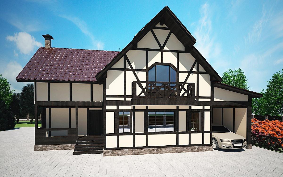 дом в стиле фахверк фото самые популярные тоже