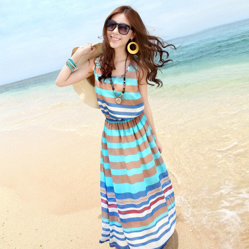 летние платья для отдыха на море фото бежите