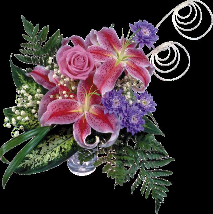 Картинка анимация красивые цветы на прозрачном фоне