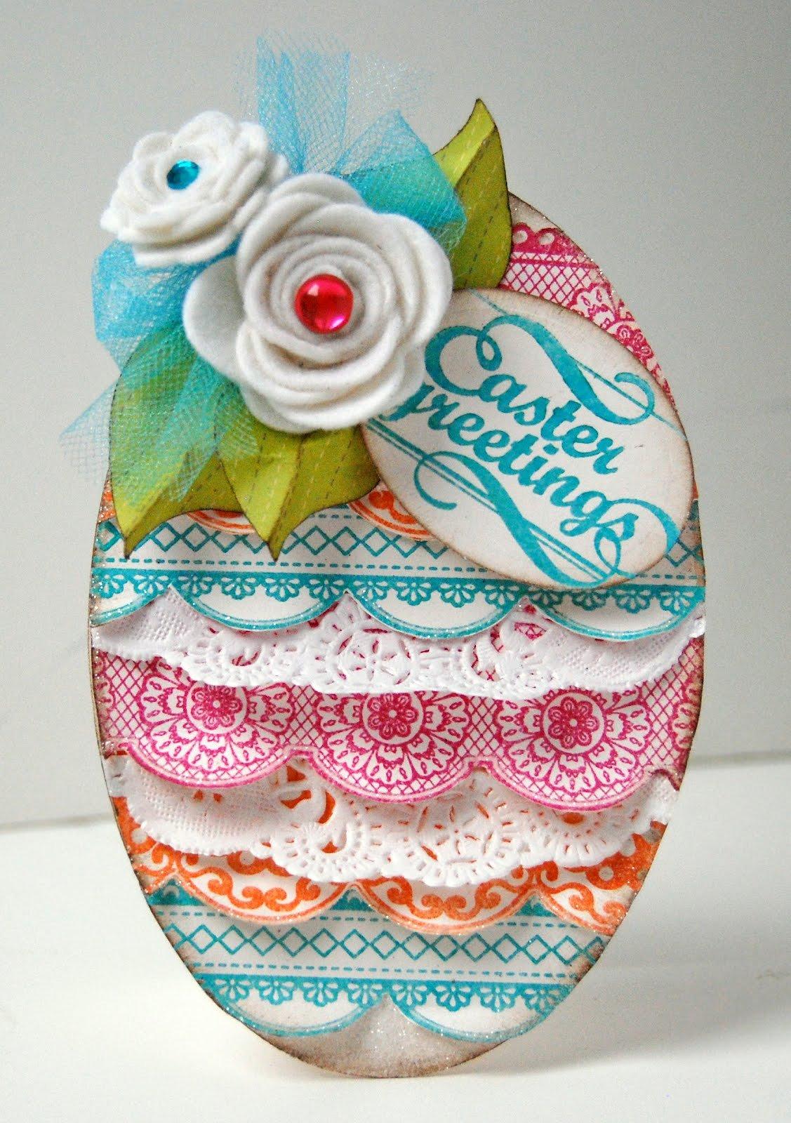 Яйцо открытки