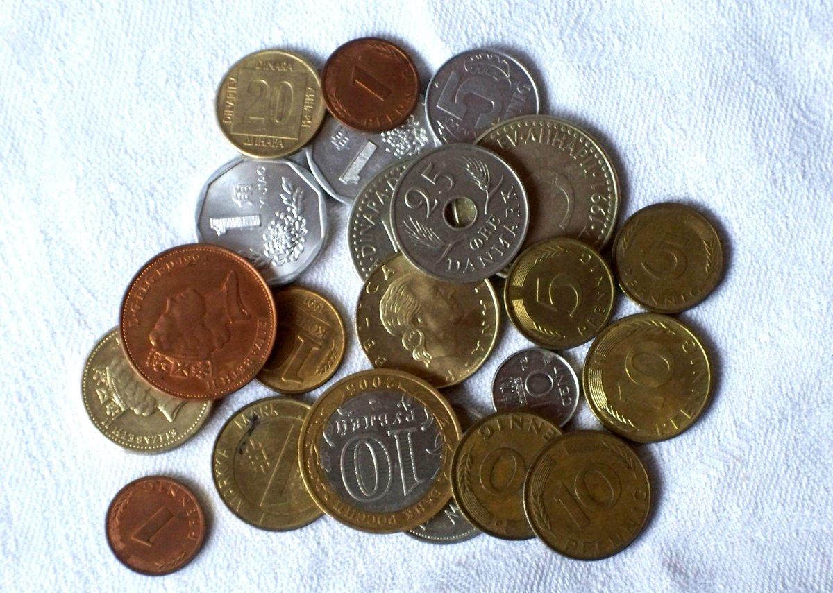 Коллекция монет картинка