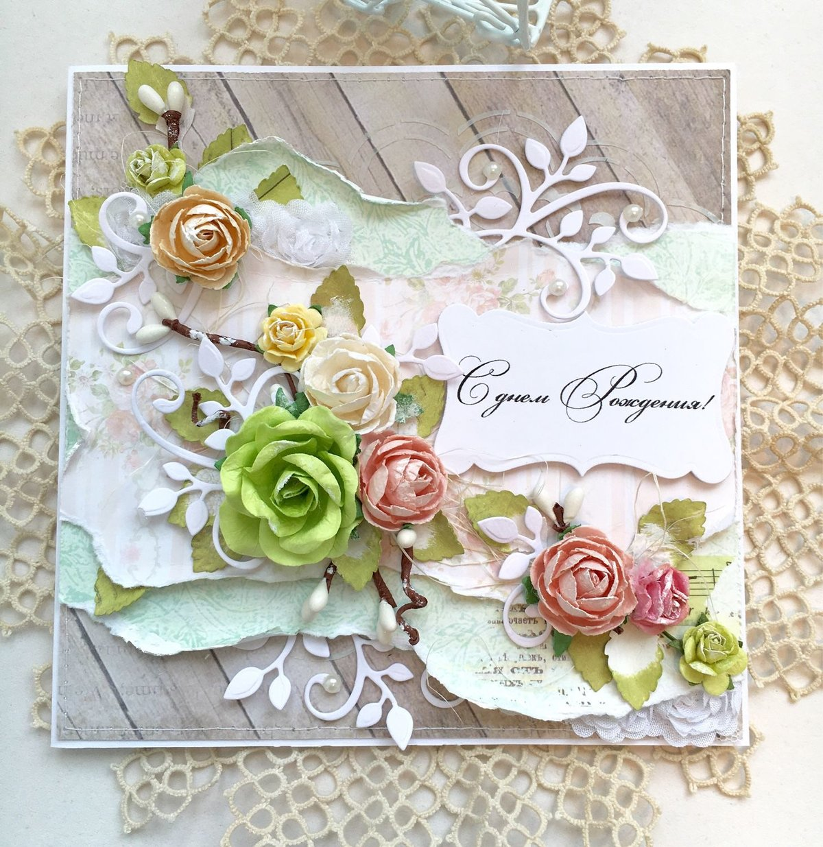 Добрым, оформить красиво открытку с юбилеем