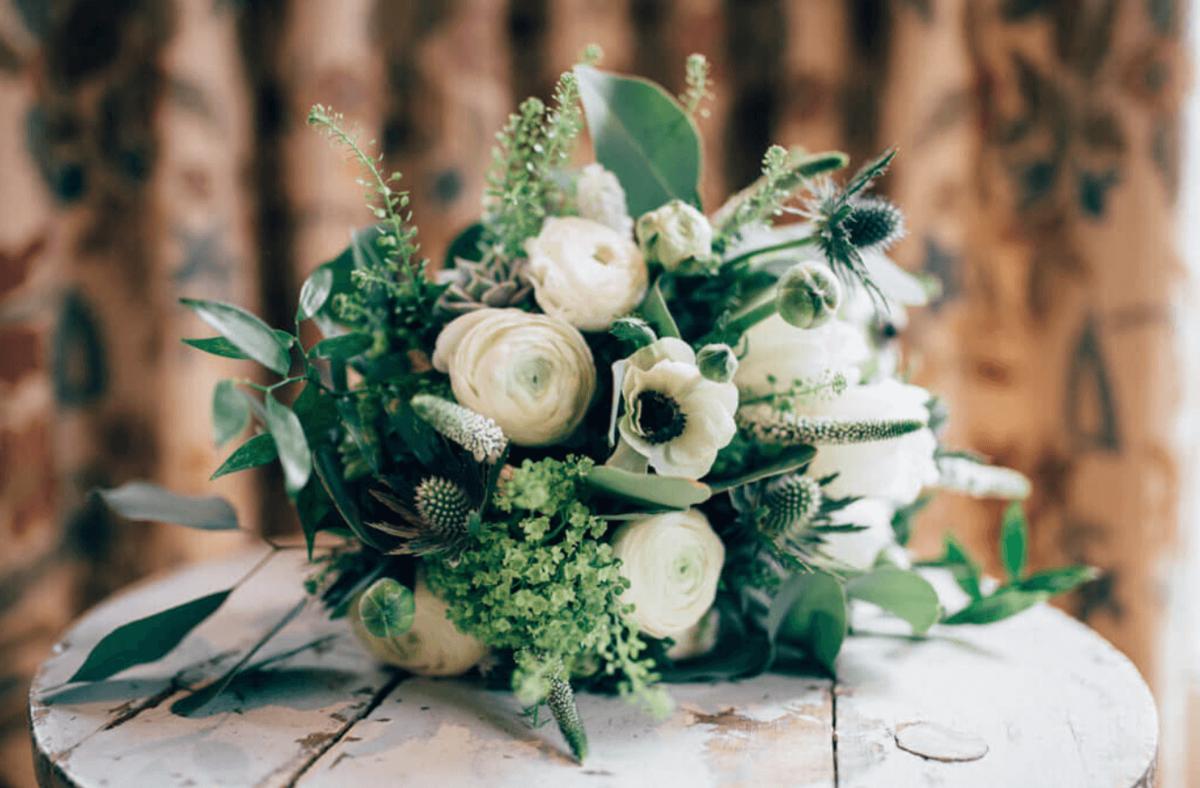 Букет для беременной невесты своими руками из живых цветов, цветов золотое руно
