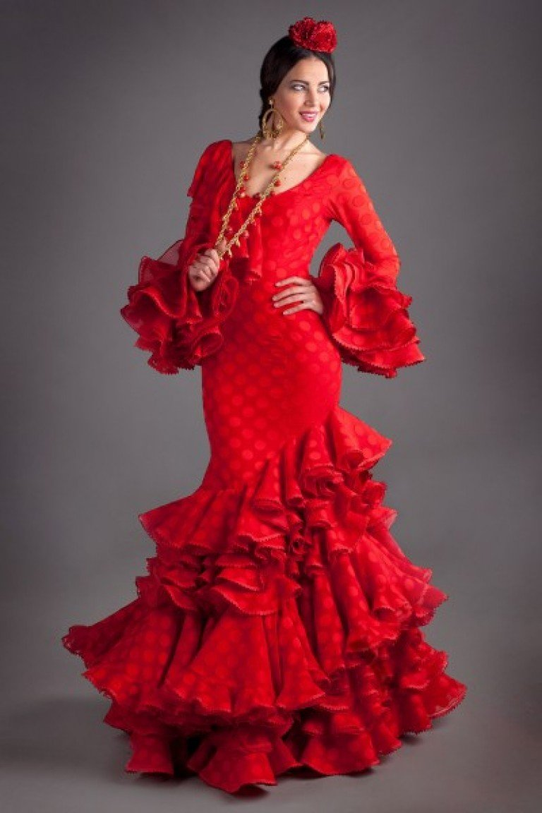 Испанский костюм женский фламенко фото