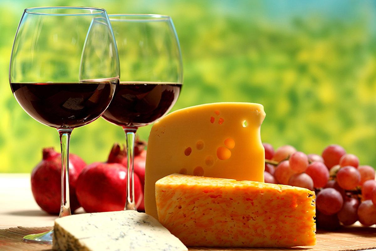 Картинки с вином и фруктами