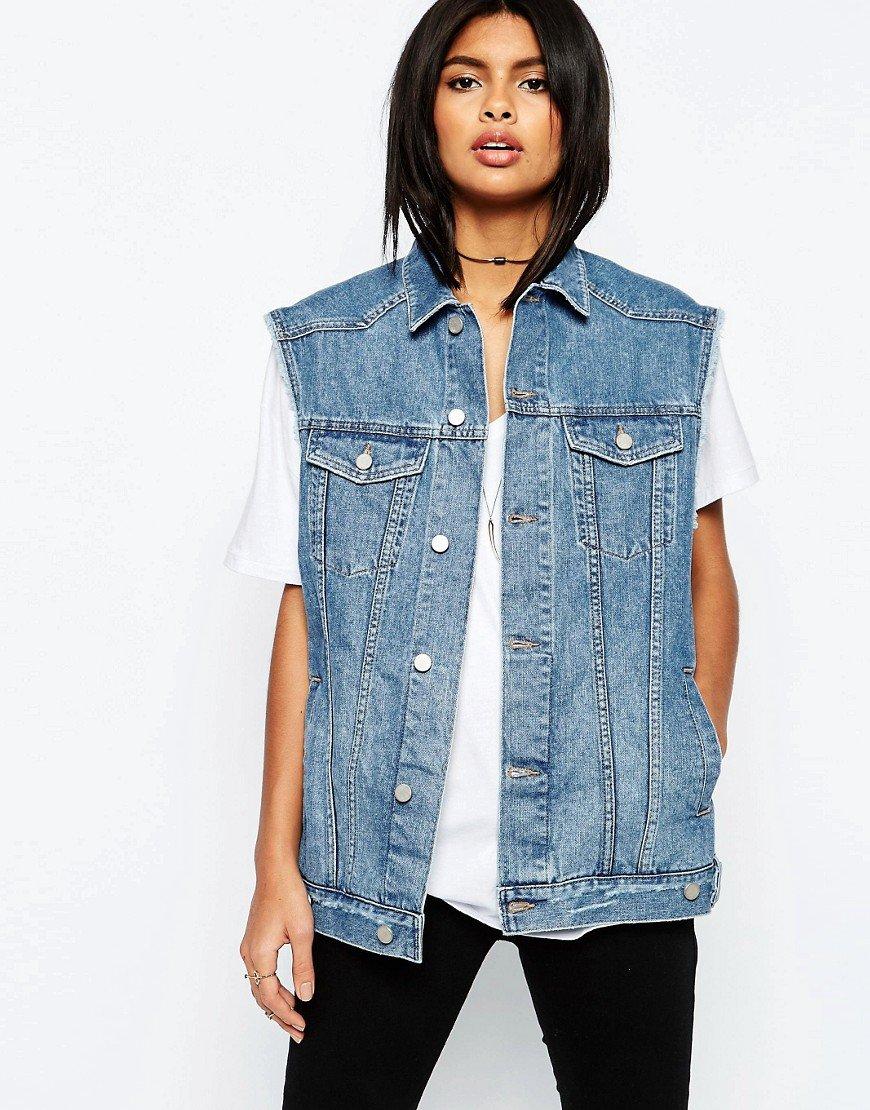 Картинки джинсовые жилетки, пакетах джинсами