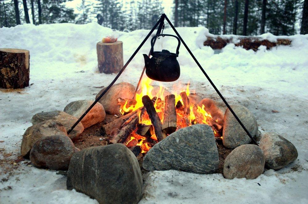 Снегурочками, картинки пикник на природе зимой