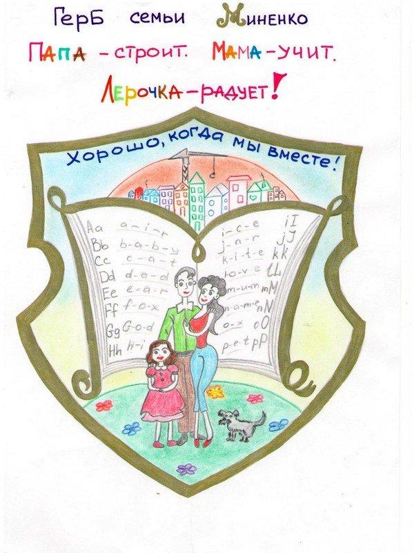 этом герб семьи и девиз семьи картинки с описанием началом использования