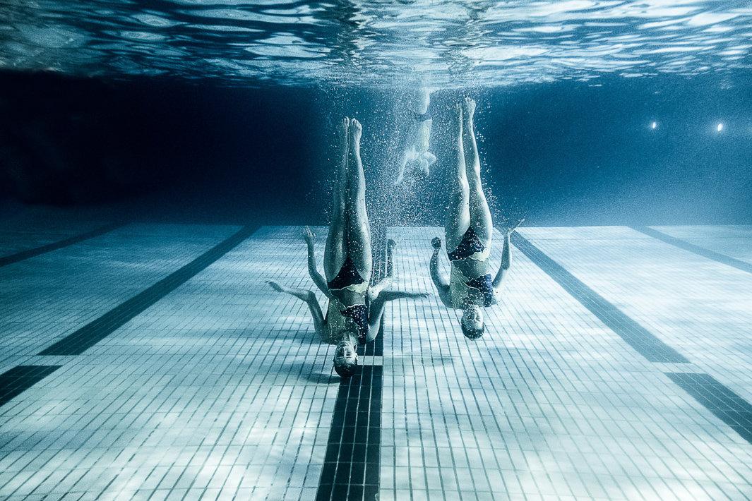 Синхронное плавание подводные фото