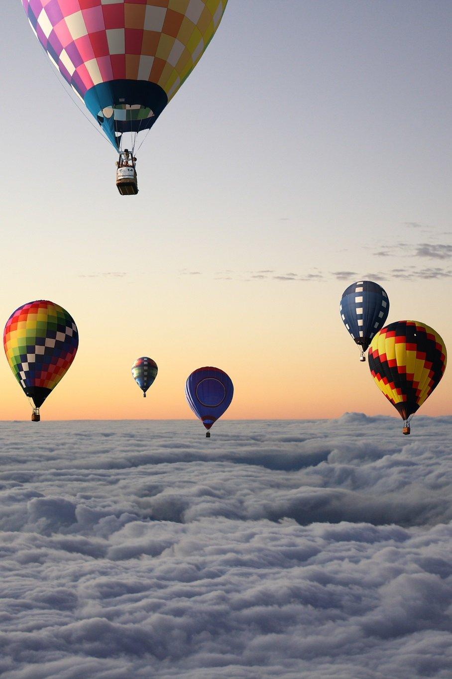означает красивая картинка воздушного шара познакомимся