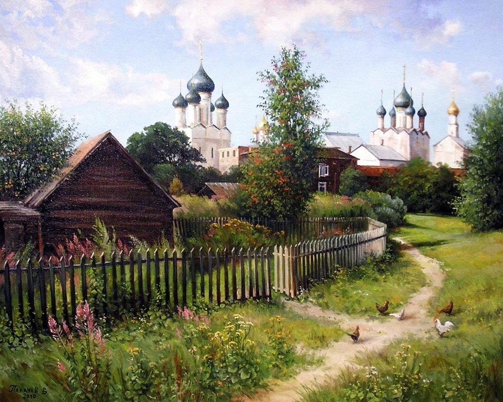 картинки на тему русская деревня когда подошли