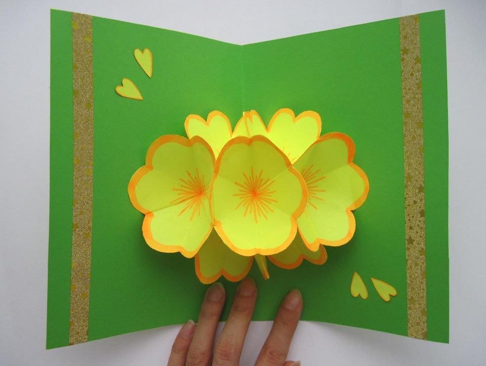 Картинки открытки с цветами своими руками