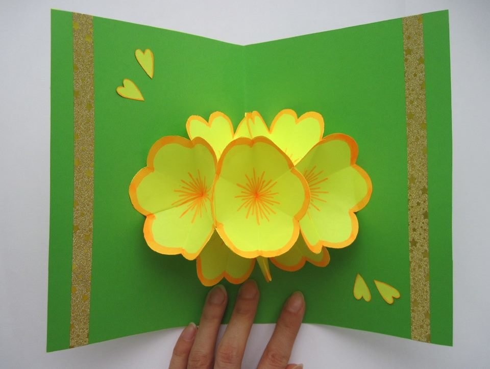 подружка открытка своими руками цветы для вас записи были