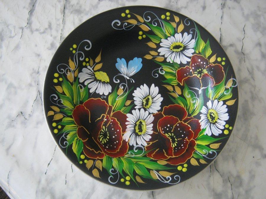 Картинки для росписи тарелку