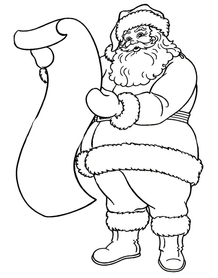 Картинки карандашом на новый год дед мороз, умники