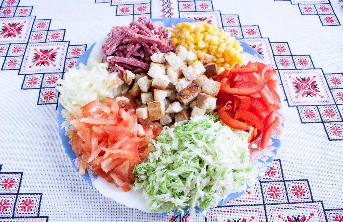 рецепты вкусных несложных салатов твой