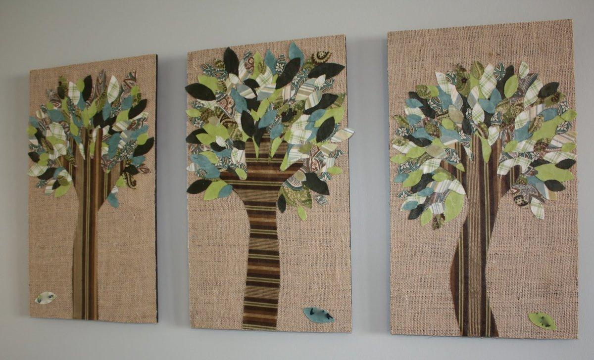Дерево своими руками из ткани