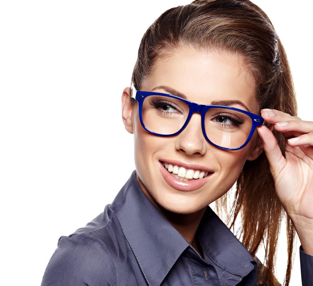 девушка в очках строгих издевательства над
